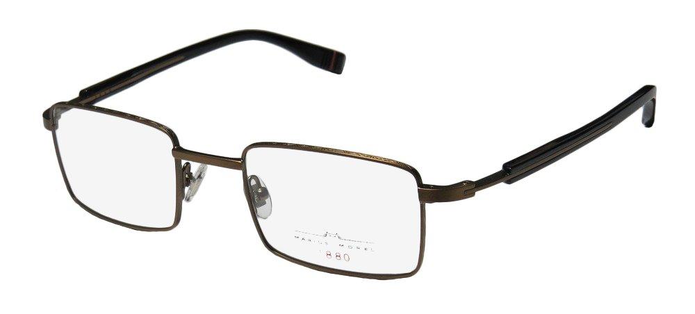 7665801a8b5 Amazon.com  Marius Morel 1880 2074m Mens Rx-able Elegant Designer Full-rim  Eyeglasses Spectacles (48-21-140