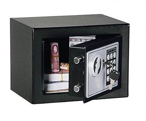 Black Digital Electronic Safe Small Box Combo Keypad Lock Home Office Hotel Gun (Ottoman Helmet)