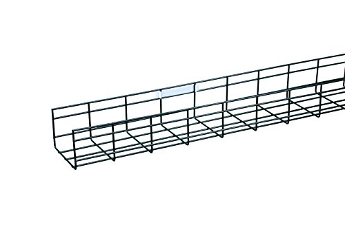 wirerun cable tray  2in h x 4in w x 9 84ft l  electrozinc