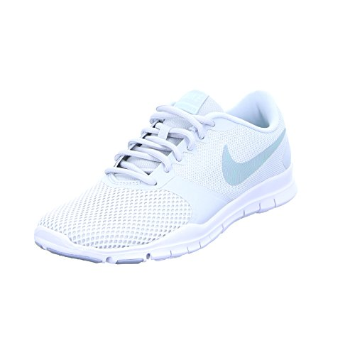 Nike Indoor Wmns Donna Sportive Scarpe Pure Wolf Platinum Tr igloo Grey Flex Essential rdOqwYfr