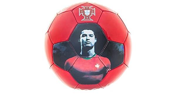 CR7 Balón de fútbol Cristiano Ronaldo Portugal 32 Paneles Rojo ...