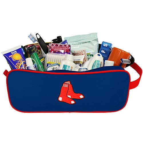 - Charm14 MLB Boston Red Sox Travel Case with Embroidered Logo
