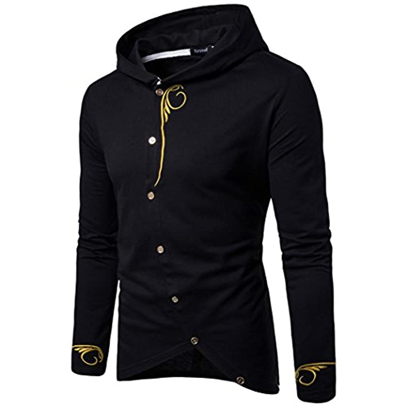 Forhtery Mens Slim Fit Jacket...