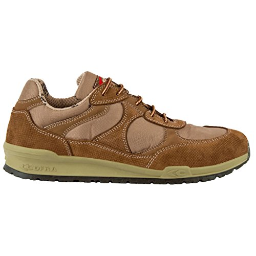 Cofra 78610–000.w41Slavin O1SRC fo–zapatos de seguridad talla 41MARRÓN