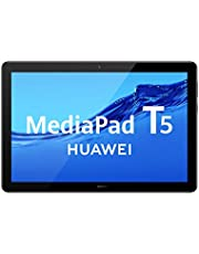 Huawei Mediapad T5 WiFi Tablet-PC (25,6 cm (10,1 inch) Full HD-display, 32 GB intern geheugen (uitbreidbaar), 2 GB RAM, 5100 mAh accu), zwart