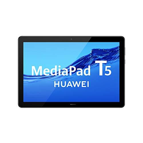 HUAWEI MediaPad T5 – Tablet de 10.1″ FullHD (Wifi, RAM de 4GB, ROM de 64GB, Android 8.0, EMUI 8.0), Color Negro