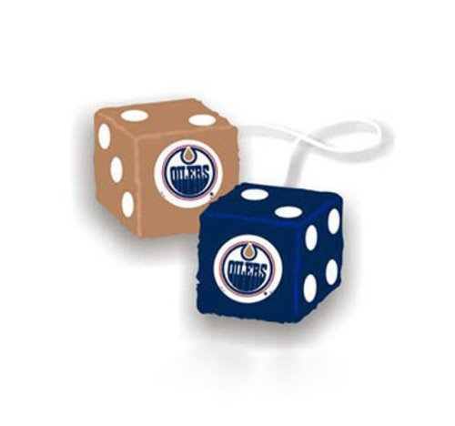 Fremont Die NHL Edmonton Oilers Fuzzy Dice 3