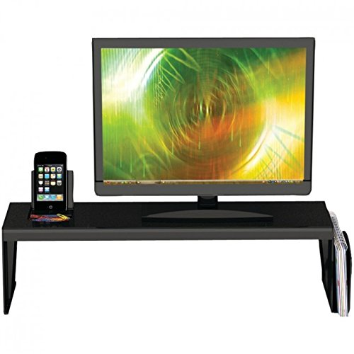 MD Group Desk Shelf Organizer TV Monitor Table Heavy Duty Drawer Desktop Sustainable Organizer by MD Group