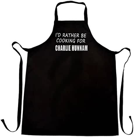 Bertie I'd Rather be Cooking for Charlie Hunnam Apron