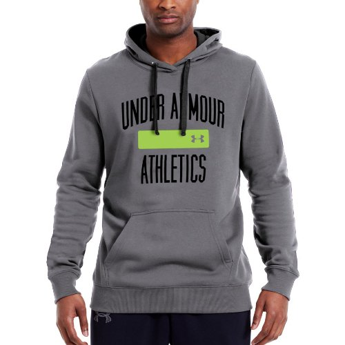 (Under Armour Men's Charged Cotton Storm Battle Hoodie X-Large Graphite)