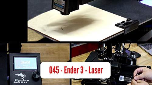 WOL 3D Creality Ender 3 Pro (3D Printer + Laser Engraver) 2in1