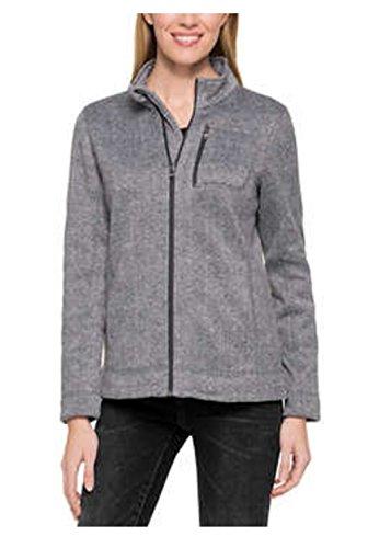 Sport Knit Jacket (Marc New York Ladies' Lightweight Full Zip Jacket (Large, Charcoal))