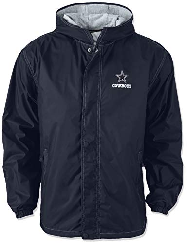 Dunbrooke Apparel NFL Dallas Cowboys Legacy Nylon Hooded Jacket 5140087cd