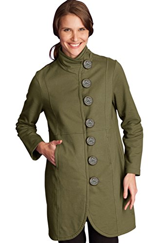 Neon Buddha Women's Katelyn Car Jacket, Reclaimed Earth, X-Small