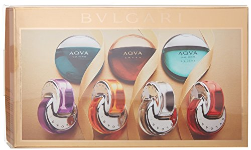 Bvlgari The Omnia and Aqua Iconic Miniature Fragrance Collection, 1.18 Ounce