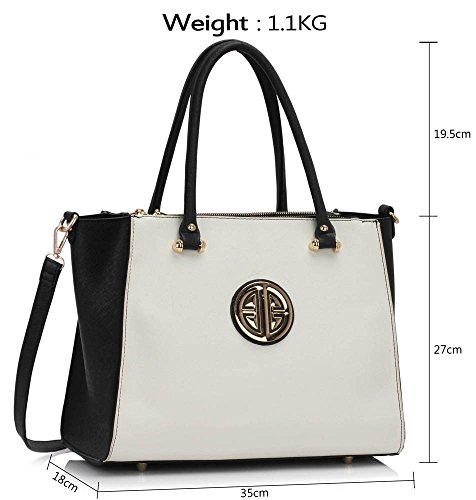 white Faux Shoulder Strap Women's Cws00408 Padlock Fashion Designer With cream Celebrity Tote black Quality Handbag Ladies Leather Cwrm0041 Bags Cws00195a Cws00408 HvxqE0