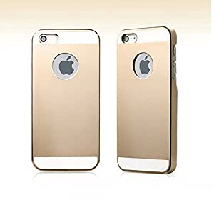US Compass Ultra Thin Metal Aluminum Alloy Bumper Frame Case Cover for iPhone 5 5s- Champagne Gold