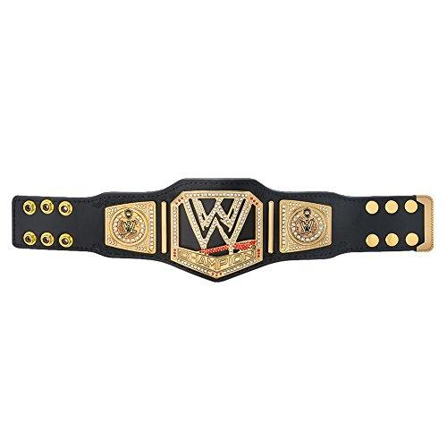 WWE Authentic Wear Championship 2013 Scratch Logo Mini Replica Title Belt