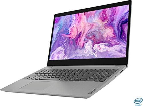 "2021 Lenovo IdeaPad 3 15.6"" FHD 1080p Laptop, Intel Core i3-1005G1 Processor, 8GB RAM, 256GB SSD, HDMI, Webcam, Wi-Fi5, Bluetooth, Windows 10, Platinum Gray w/ IFT 32GB USB 3.0 Flash Drive WeeklyReviewer"