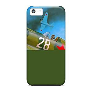 USMONON Phone cases Hot Plane, D?-16, Picture, Smoke First Grade Tpu Phone Case For Iphone Iphone 5c Case Cover
