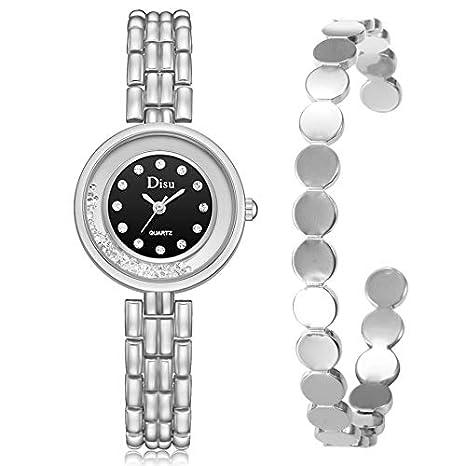 Rcool Relojes suizos relojes de lujo Relojes de pulsera Relojes para mujer Relojes para hombre Relojes deportivos,Temperamento Reloj pulsera Set cadena ...