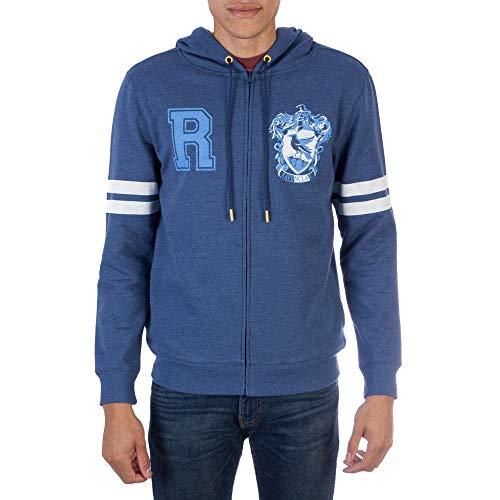 Harry Potter Ravenclaw Zip-up Hoodie Sweatshirt-XX-Large from HARRY POTTER
