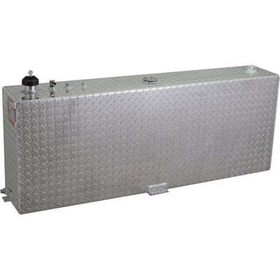 RDS 71083 57' Length x 9.5' Width x 20' Height Rectangular Auxiliary/Transfer Fuel Tank - 45 Gallon Capacity