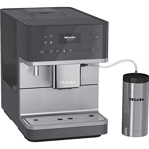 Miele 29635030USA CM6350 Graphite Grey Countertop Coffee Machine, Medium, (Renewed)