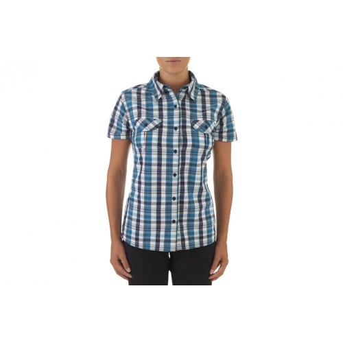 Blu da The a North Boulder donna Camicia Face corte maniche w6nxSd0qz