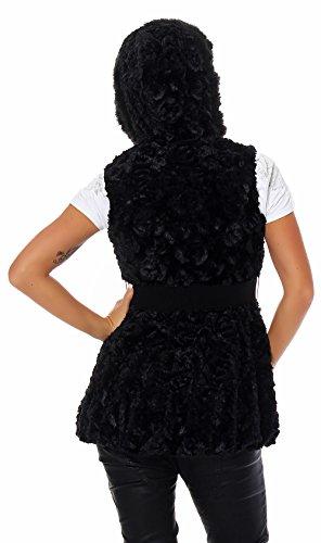 Airisa Fashion - Chaleco - para mujer negro