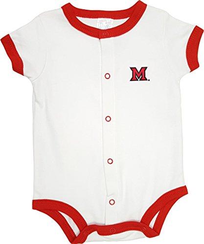 Onesie Cotton Ohio (Future Tailgater Miami Ohio Redhawks Baby Onesie Romper)
