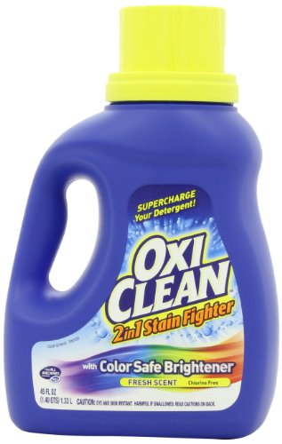 OxiClean 2in1 Fresh Scent Liquid Stain Fighter with Color Safe Brightener, 45 oz.