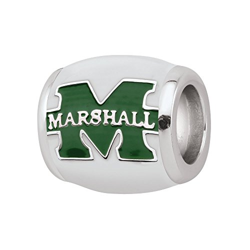(Persona Sterling Silver Marshall University Beads and)