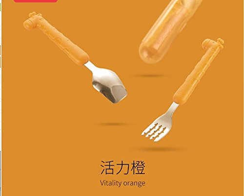 絶妙なデザイン Xing Lin子供のテーブルウェアセット子供のトレーニング学習箸ステンレススチールベビースプーンフォークスーツベビーテーブルウェアフォークフォークフォークフォークフォーク オレンジ オレンジ 6906981990764 オレンジ 6906981990764 オレンジ B078RK62X5, サバゲー用品の41ミリタリー:9630d34f --- beyonddefeat.com