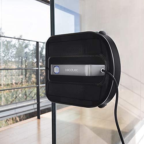 Cecotec Robot nettoie-vitres WinDroid 970. Navigation intelligente ,Serpillère vibratoire,nettoyage en 5 étapes,5 modes de nettoyage,Système de sécurité intégré - Home Robots