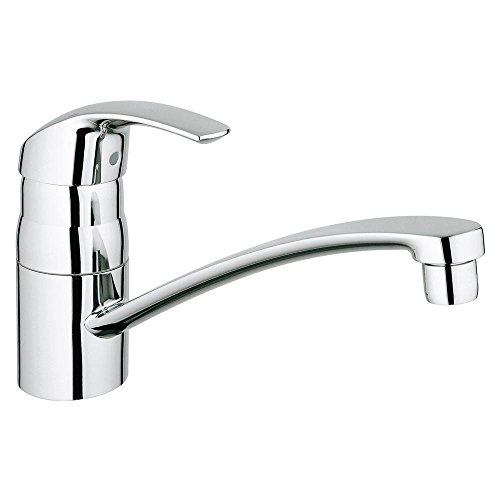 Eurosmart Eurosmart Single Hole (Eurosmart Single-Handle Standard Kitchen Faucet With Swivel)