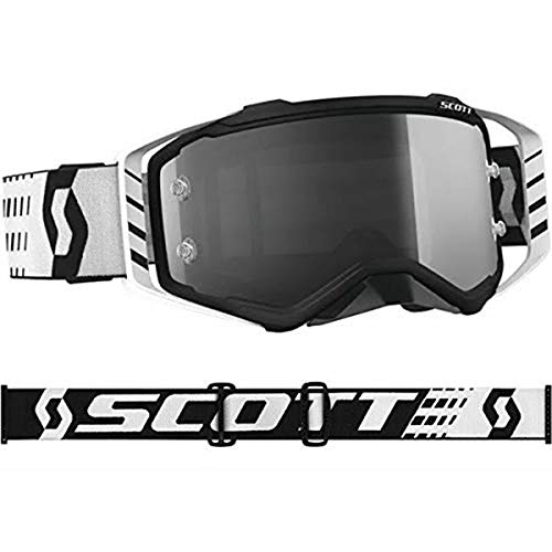 Scott Prospect Adult Off-Road Motorcycle Goggles - Black/White/Grey/One - Off Roll Smith System