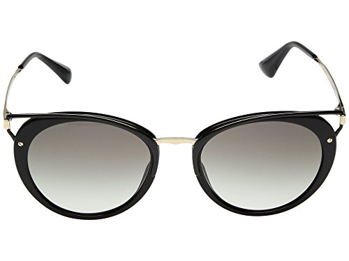 Prada Women's 0PR 66TS Black/Grey Gradient Sunglasses (Prada 54mm)