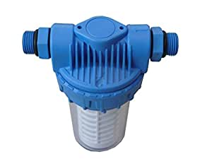 AMG 07622040prefiltro Mini Completo 0,5Pulgadas sin ventilación, 14x 6x 5cm, Multicolor