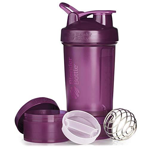 BlenderBottle Shaker Bottle with Pill Organizer and