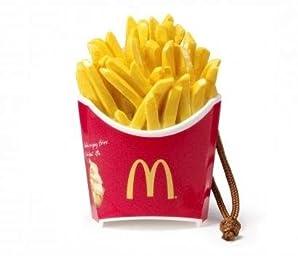 McDonald's FOOD STRAP/マクドナルド フードストラップ 第1弾 【4.マックフライポテト(M)】(食玩) 記号:ハート