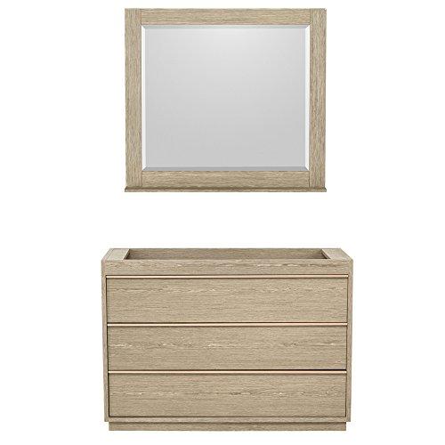 60%OFF Naya Single Vanity Cabinet with No Countertop, No Sink, 36 inch Mirror