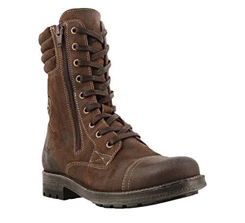 Taos Footwear Women's Renegade Chocolate Rugged Boot 7-7.5 M - Chocolate Rugged