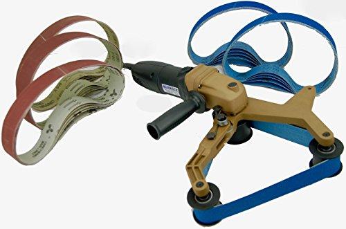 40A & 25 Belts Pipe Polisher Grind Sander BLUEROCK Tools Belts by fits Metabo