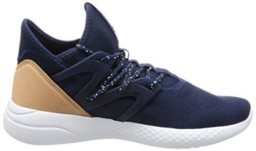 Reebok Bd2068, Zapatos de Danza Moderna/Jazz para Mujer Azul (Collegiate Navy / White / Veg Tan)