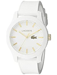 Lacoste Men's 2010819-12.12 Analog Display Japanese Quartz White Watch