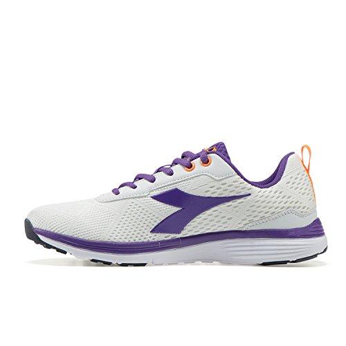 Diadora Chaussures De W Running violet Femme Swan Blanc C5129 UqHvrnU