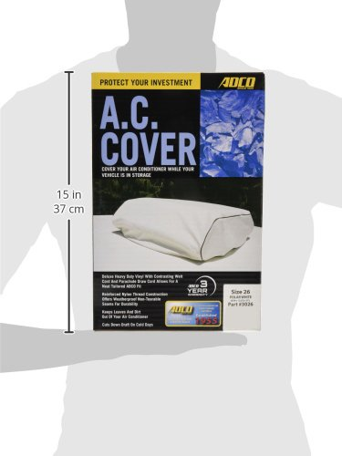 ADCO-3026-White-Size-26-RV-Air-Conditioner-Cover