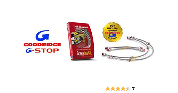 Braided Brake Hose-Compbrake//Goodridge//race//rally//trackday//kitcar CMB0187