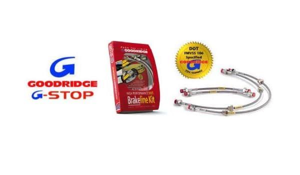 Goodridge Stainless Steel Brake Line Kit for 94-01;INTEGRA;Acura;4 Line;All Models